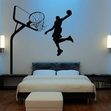 huge basketball wall decal decor art stickers by happywallz