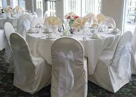 ivory chair covers wedding chair covers linens dc virginia maryland