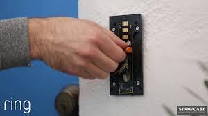 ring doorbell hardwired install youtube