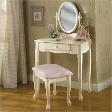 Small Vanity Table Powell White Vanity Mirror Bench Set White 929 290