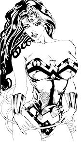 wonder woman sketch loni blanks foundmyself