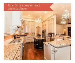kitchen design white cabinets granite giallo ornamental granite for warm kitchen design