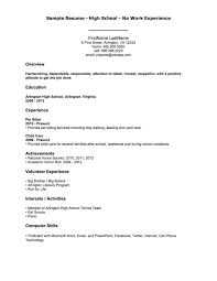 General Resume Templates General Job Resume Free Resume Example And Writing Download