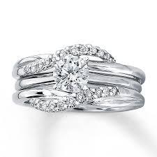 kay jewelers locations kay diamond enhancer ring 1 5 ct tw round cut 14k white gold