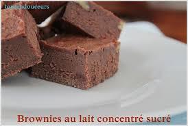 Brownies By Hervé Cuisine Http Brownie Au Lait Concentré Sucré Le Summum De La Gourmandise