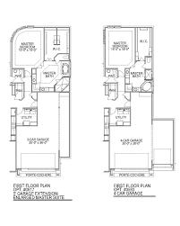 ranch floor plans with 3 car garage plan f758 cross creek ranch 65 u0027 in fulshear tx