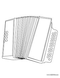 printable accordion coloring music play