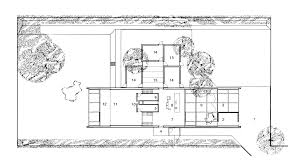 ground floor plan casa holscher house by knud holscher holte
