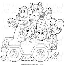 christmas jeep clip art safari clipart black and white pencil and in color safari