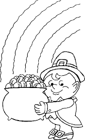 leprechaun coloring pages printable coloring