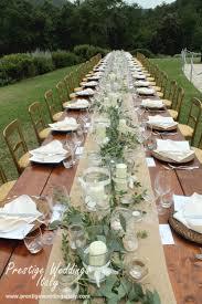 Table Decor For Weddings Table Decor Wedding Italy Inspiration