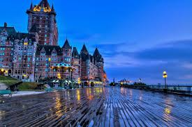 saint lawrence river le chateau frotenac quebec canada living room