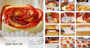 apple rose tart now focus