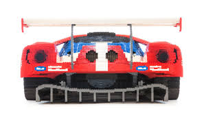 lego ford mustang just in time for ford u0027s return to le mans a huge lego ford gt
