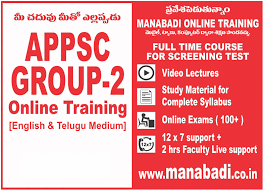 appsc group 2 online coaching study materials kautilya career