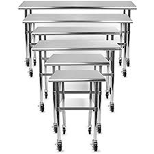 Compare Prices On Commercial Kitchen by Amazon Com Gridmann Nsf Stainless Steel Commercial Kitchen Prep