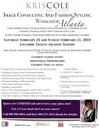 Fashion Stylist Resume Sample by Image Consulting And Fashion Styling Workshop Atlanta