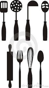 ustensil cuisine free printable kitchen clip kitchen utensils clip royalty
