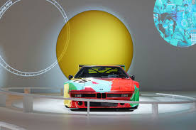 bmw museum kinetic sculpture exclusive interview 40 years of the bmw art car