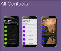 contacts apk app win style dialer contacts apk for windows phone android