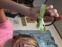 how to make a hair bow easy 4 ways to make a hair bow out of ribbon wikihow