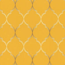 rasch wallpaper rasch wallpaper sight seeing trellis mustard 701630 wonderwall