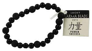 lucky beads bracelet images Karmalogy lucky karma beads bracelet onyx black power success jpg