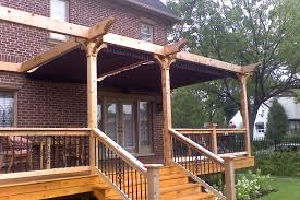 Decks With Roofs Pictures by Pergola Design Attached Freestanding Or Hybrid