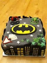 batman cakes ideas