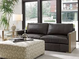 72 Leather Sofa Shadow Play Delshire Leather Sofa Lexington Home Brands