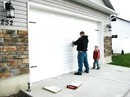 diy faux wood garage door tutorial by prodigal pieces