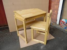 Kids Wooden Desk Chairs Childrens Desk And Chair Chair Design And Ideas