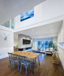 alva roy architects design the garden void single family two story