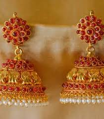 buy jhumka earrings online 25 best exciting range of traditional jhumkas images on