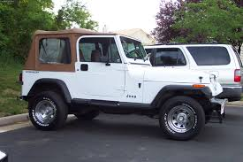old white jeep wrangler 1992 jeep wrangler information and photos zombiedrive