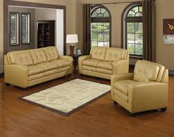 Bonded Leather Loveseat Butterscotch Bonded Leather Modern Sofa U0026 Loveseat Set W Options