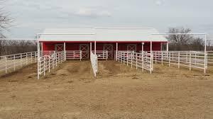 Overhead Shed Door by H U0026k Horse Barn Callahan Steel