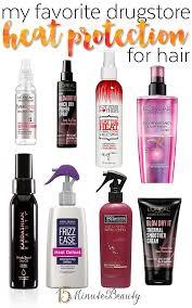 best drugstore shoo for color treated hair my favorite drugstore heat protectants for hair makeup hair