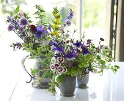 country garden bouquets at hampton court flower show art by