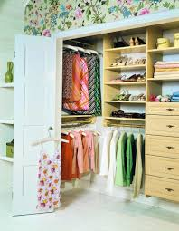 how to glamorize a reach in closet organizations hanging