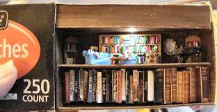 matchbox book shelf