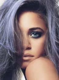 white hair with black lowlights in the spotlight grey silver hair is all the rage in 2015