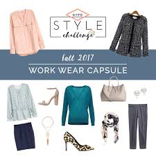 over 40 work clothing capsule fall 2017 work wear capsule get your pretty on