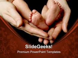 baby powerpoint presentation template new born01 ba powerpoint