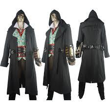 sherlock halloween costumes dishonored 2 corvo attano jacket vest cosplay costume halloween
