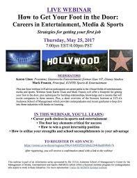 Summer Entertainment Internships - karen glass professional profile