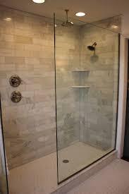 Walk In Shower Without Door Best Creative How To Build A Walk In Shower Without 19539