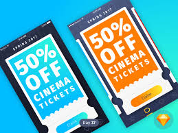 coupons daily ui sketch by luka dadiani dribbble