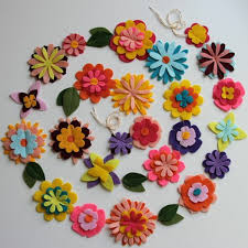 felt flowers felt flowers themselves creative craft ideas from felt