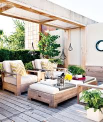Outdoor Living Areas Images by Gorgeous Outdoor Living Space Brown Metal Chair Vintage Table